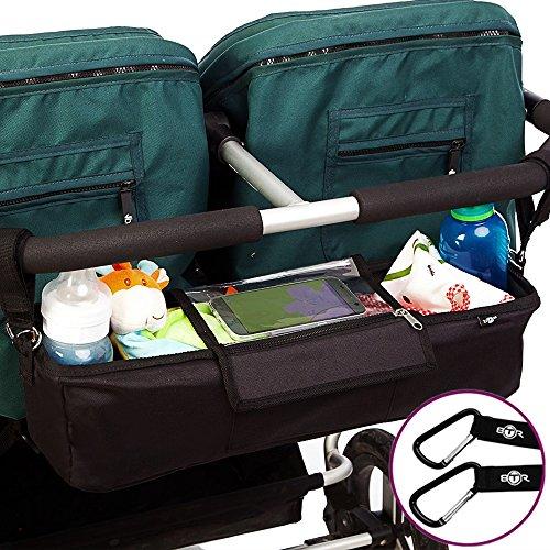 btr kinderwagen organizer f r zwillings kinderwagen und. Black Bedroom Furniture Sets. Home Design Ideas