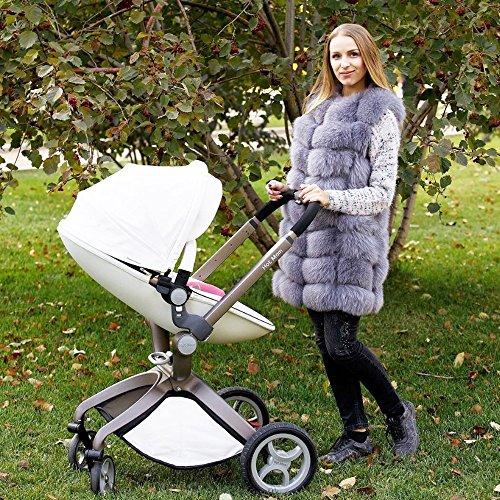 hot mom kombikinderwagen mit buggyaufsatz und babywanne 3. Black Bedroom Furniture Sets. Home Design Ideas