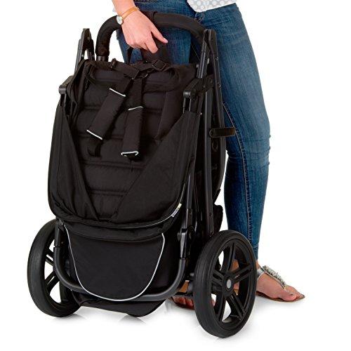 hauck buggy rapid 3 dreiradwagen mit liegefunktion klein. Black Bedroom Furniture Sets. Home Design Ideas